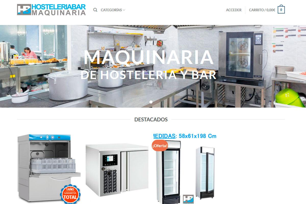 Tienda online maquinaria hostelería hosteleriabar.com