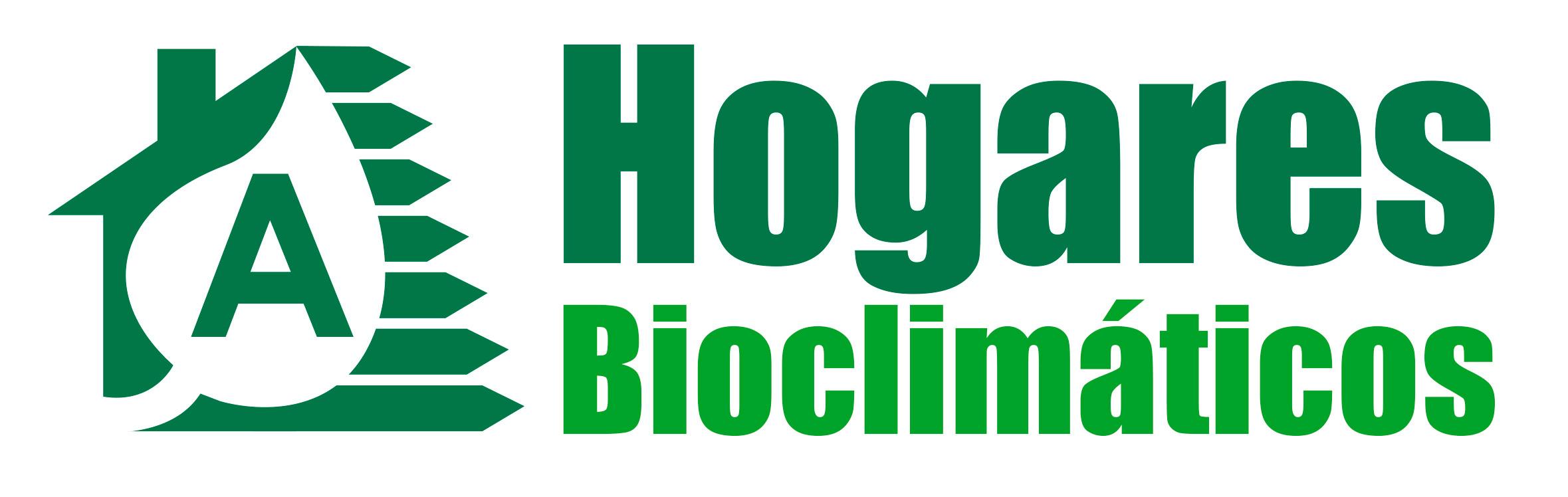 Logotipo para una empresa contructora: Hogares Bioclimáticos
