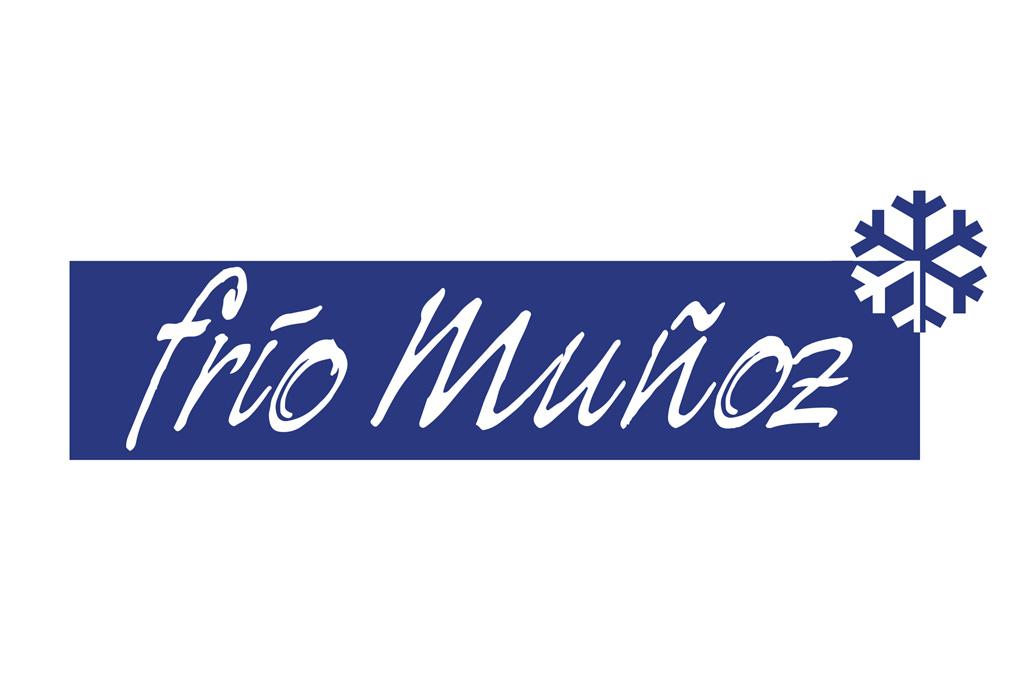 Logotipo para una empresa comercial de maquinaria de hostelería: Frío Muñoz
